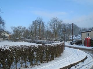 Flowton in winter