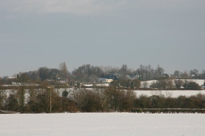 View down to Flowton