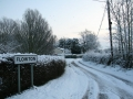 Snow in Flowton